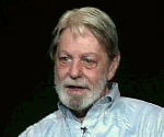 Shelby Foote used his seat at the table to step on the Mouse. Shelby is talking to Brian Lamb at C-Span.